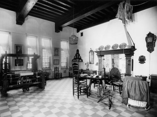 Westerwoldse kamer in groninger museum is 45 jaar geleden naar het depot verhuisd historische - Kamer jaar oude jongen ...