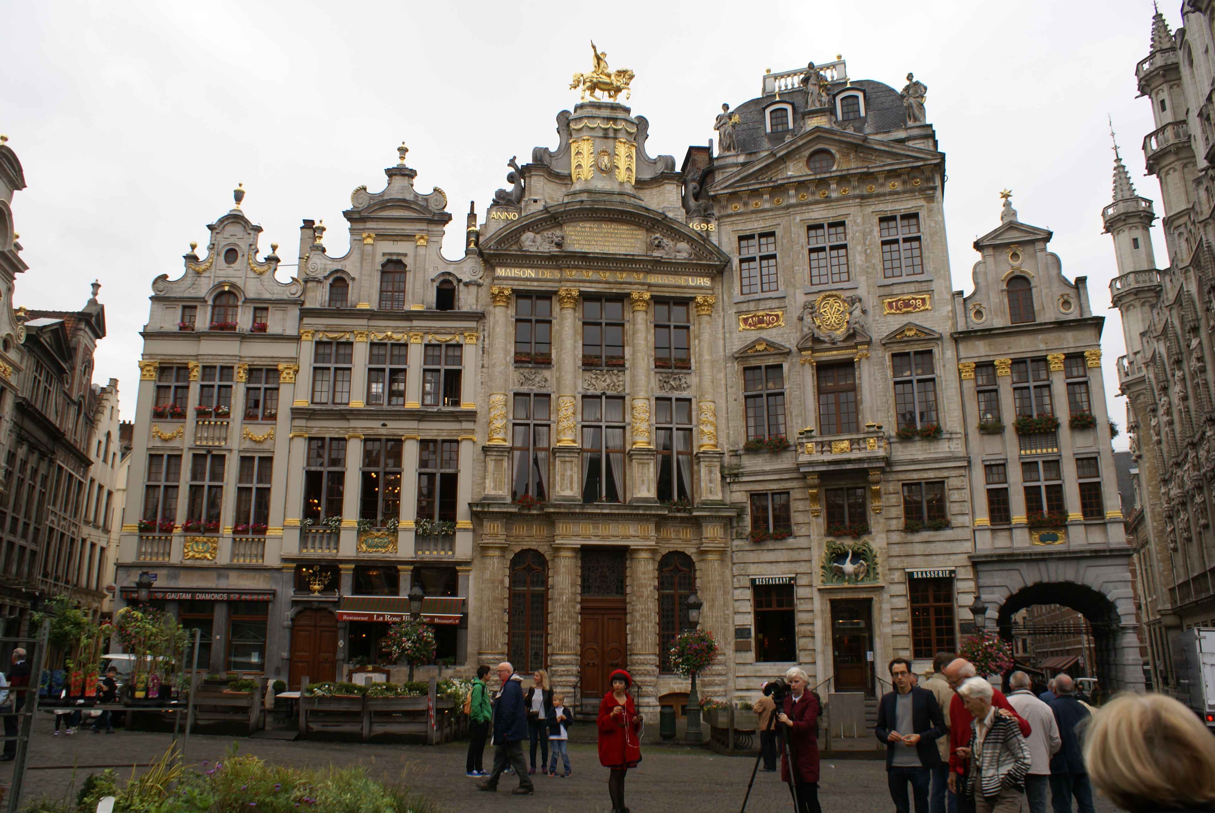 brussel gevels grand place