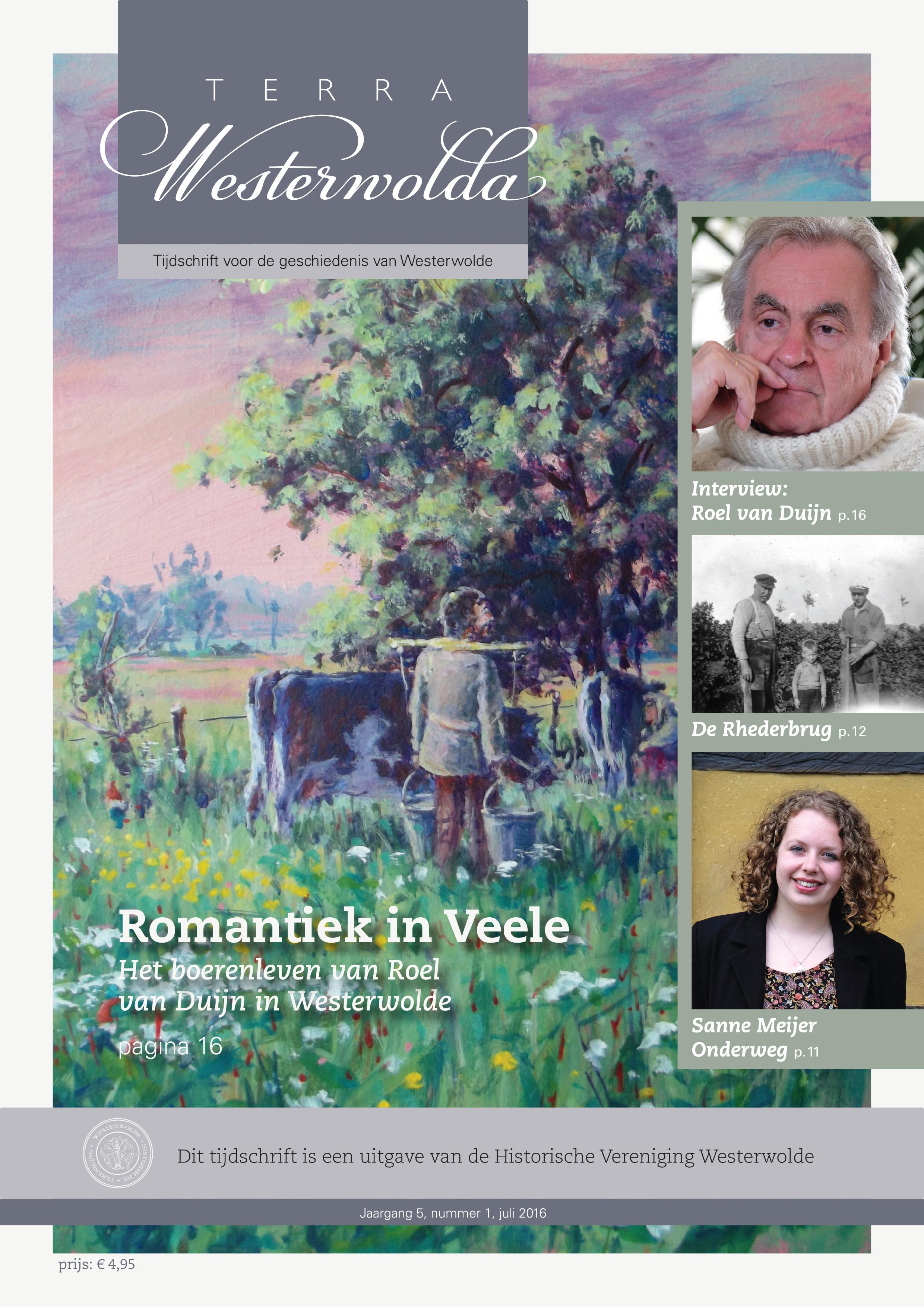 Cover vernieuwde Terra Westerwolda. Juli 2016