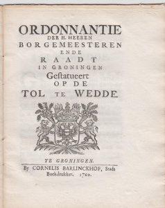 ORDONN OD TOL TE WEDDE 1759 VB